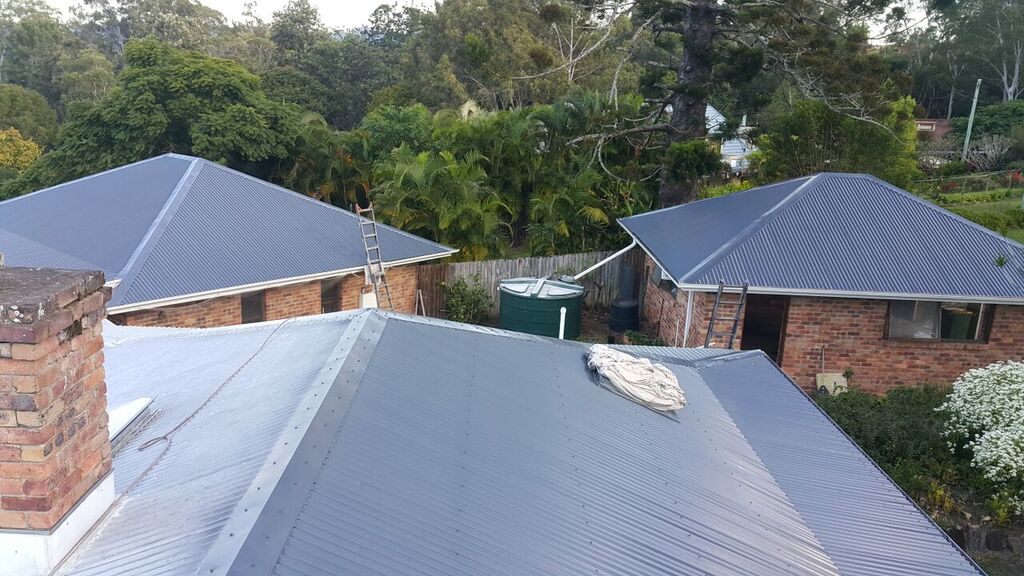 Roof Painting All Coast Roofing Gold Coast